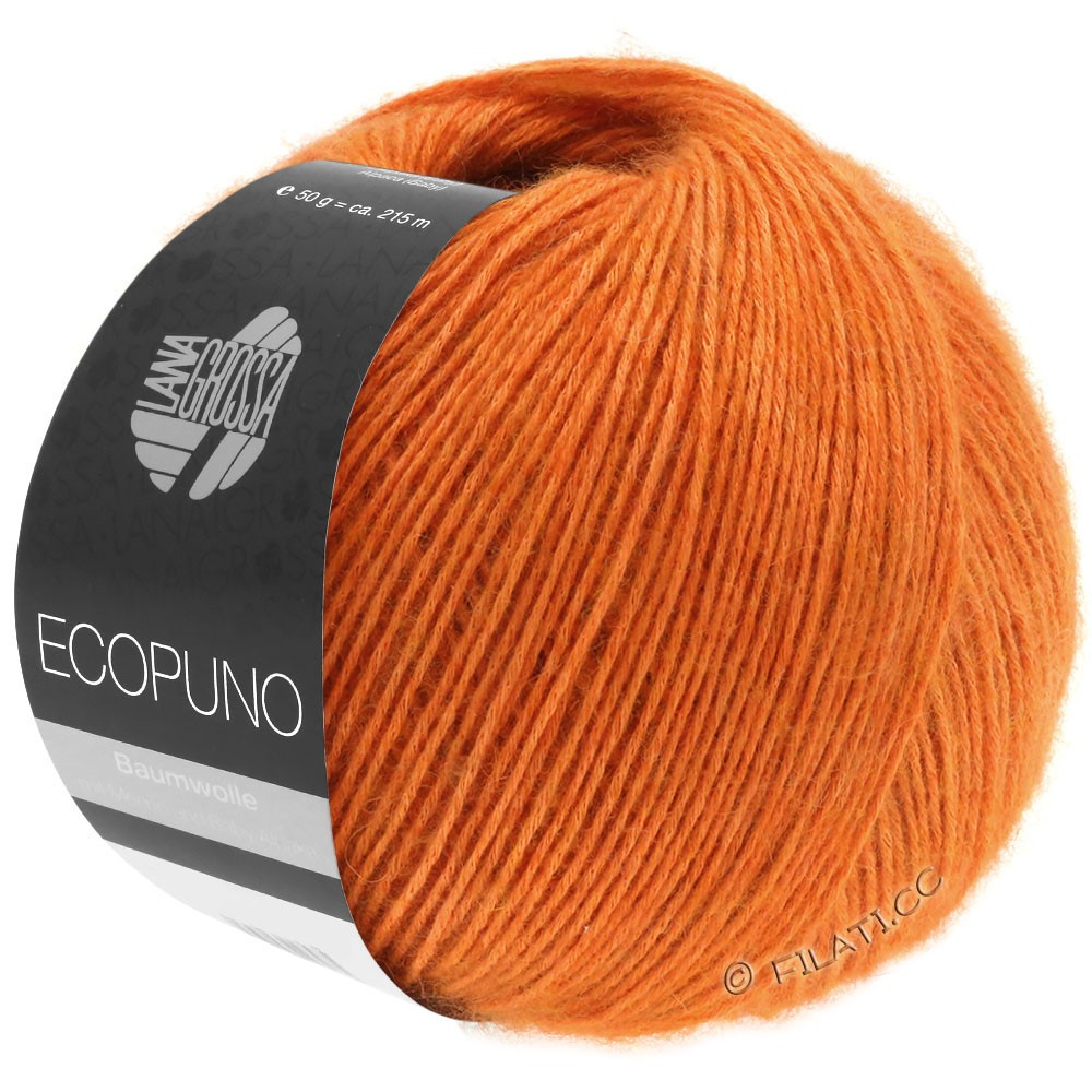 Lana Grossa ECOPUNO | 05-arancio jaffa