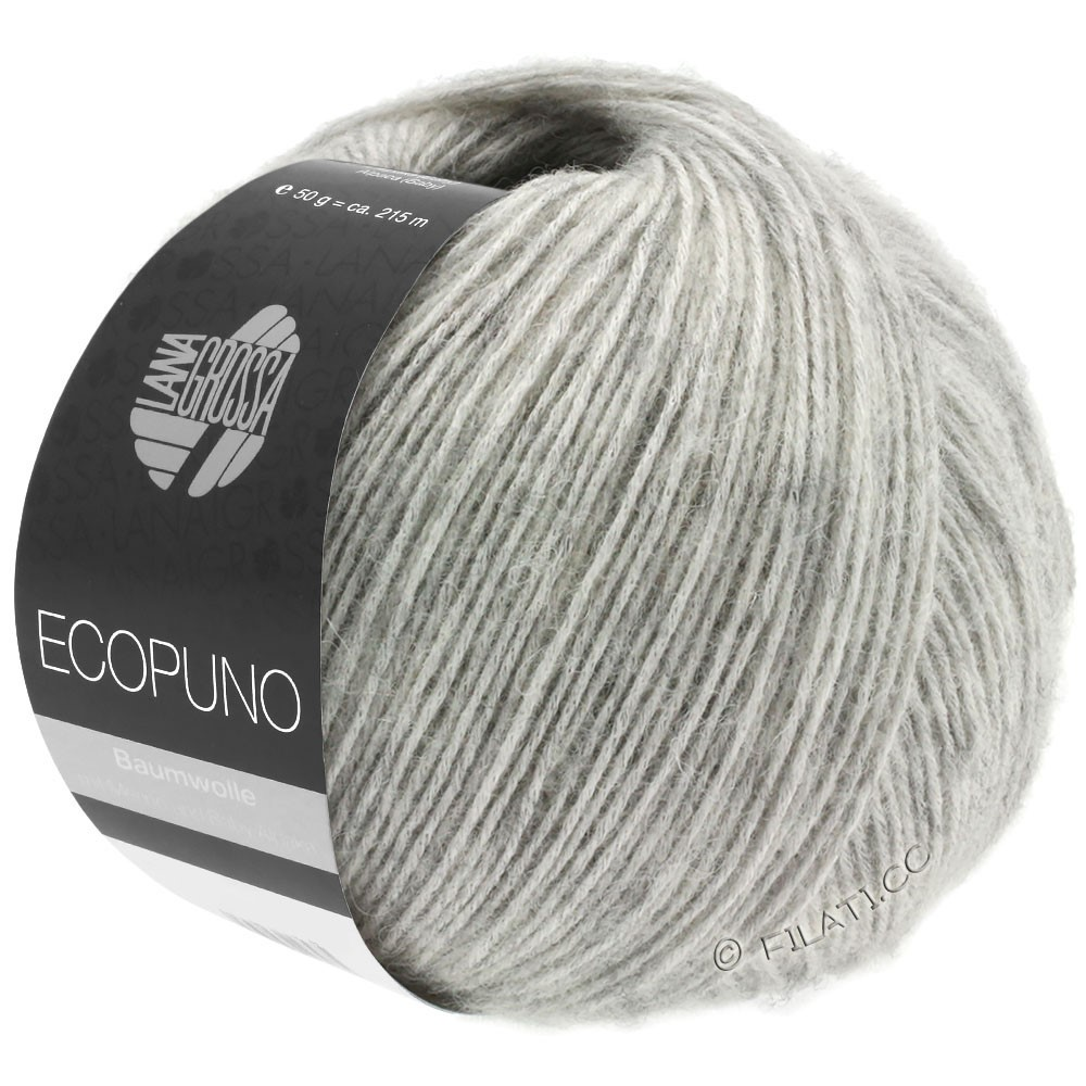 Lana Grossa ECOPUNO | 14-grigio chiaro