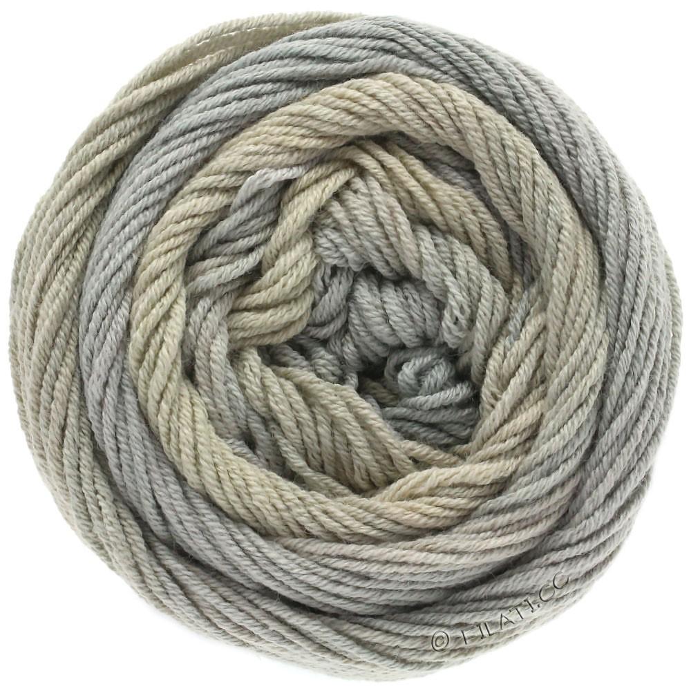 Lana Grossa ELASTICO Degradé   705-beige/beige grigio/grigio verde