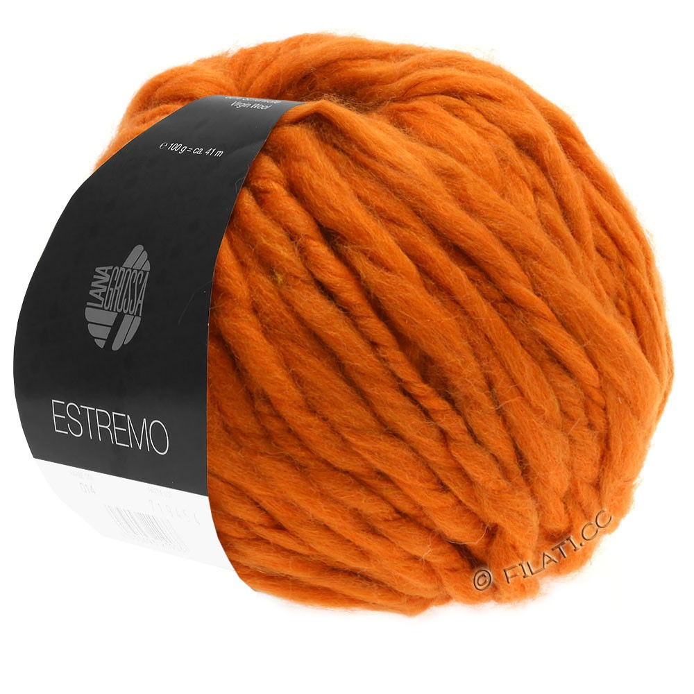 Lana Grossa ESTREMO | 05-arancio terracotta