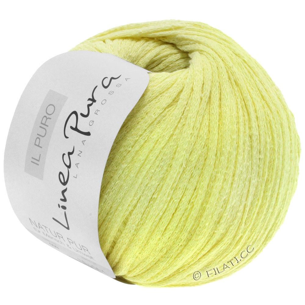 Lana Grossa IL PURO (Linea Pura) | 09-giallo delicata