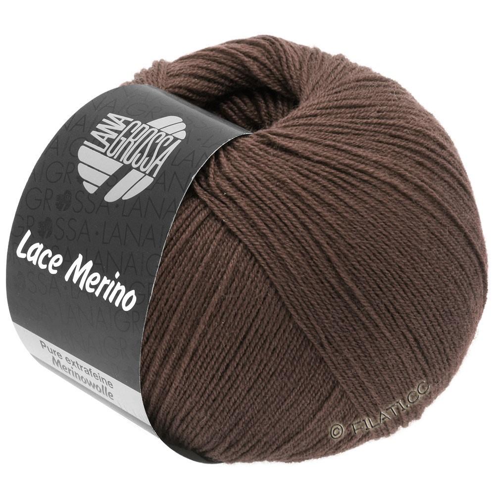 Lana Grossa LACE Merino  Uni | 63-marrone cioccolato