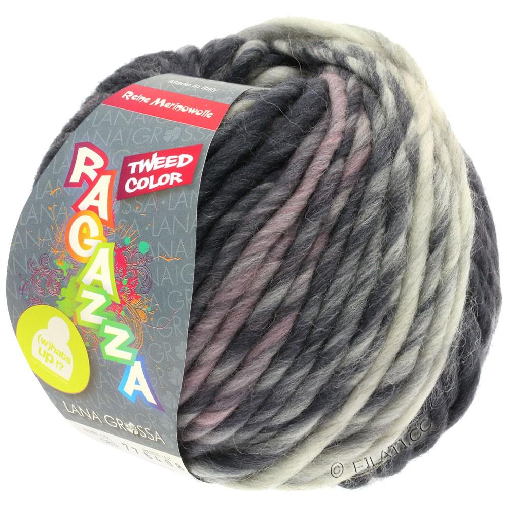 Lana Grossa LEI Tweed Color (Ragazza) | 405-grigio chiaro/grigio medio/grigio scuro puntinato