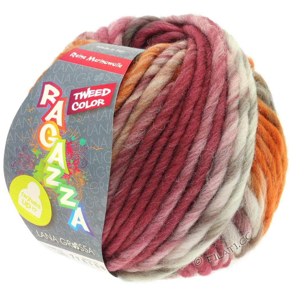Lana Grossa LEI Tweed Color (Ragazza) | 406-natura/taupe/marrone cioccolato/palissandro/cognac puntinato