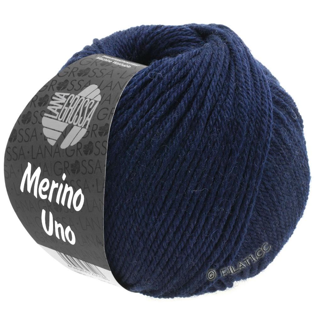 Lana Grossa MERINO UNO   04-blu notte