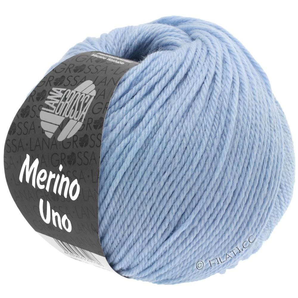Lana Grossa MERINO UNO   08-blu chiaro
