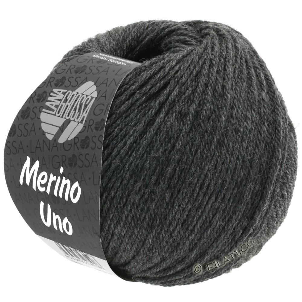 Lana Grossa MERINO UNO   11-grigio scuro