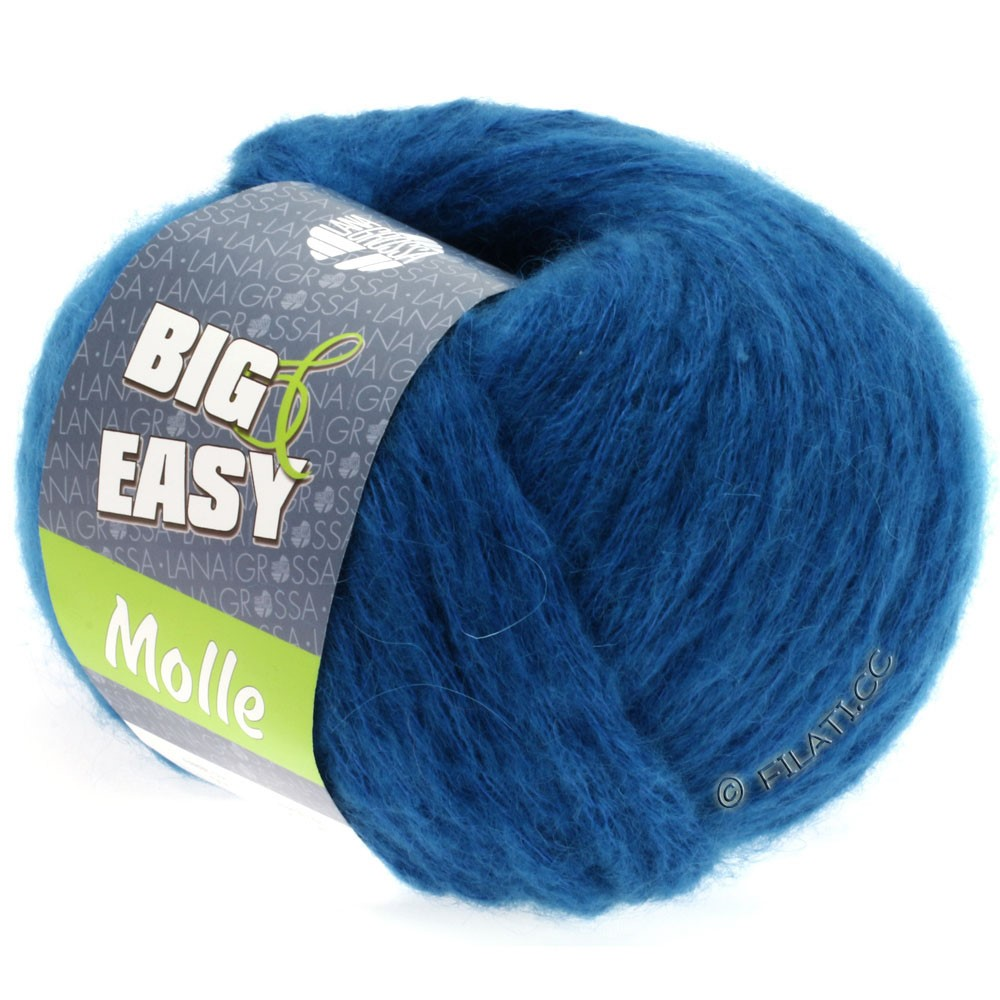 Lana Grossa MOLLE 100g (Big & Easy)   04-blu