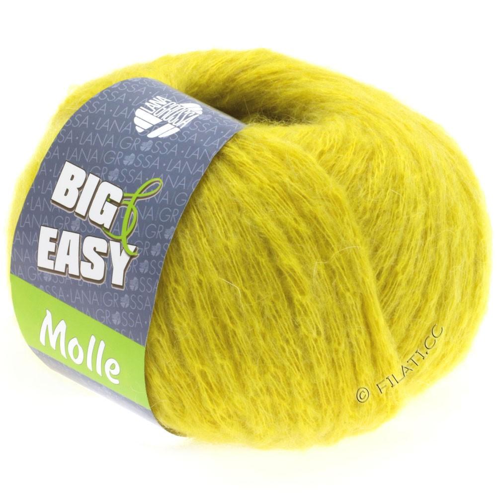 Lana Grossa MOLLE 100g (Big & Easy)   07-giallo