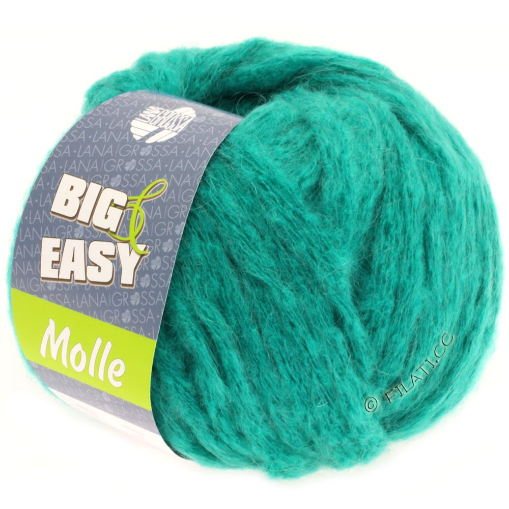 Lana Grossa MOLLE 100g (Big & Easy)   15-turchese