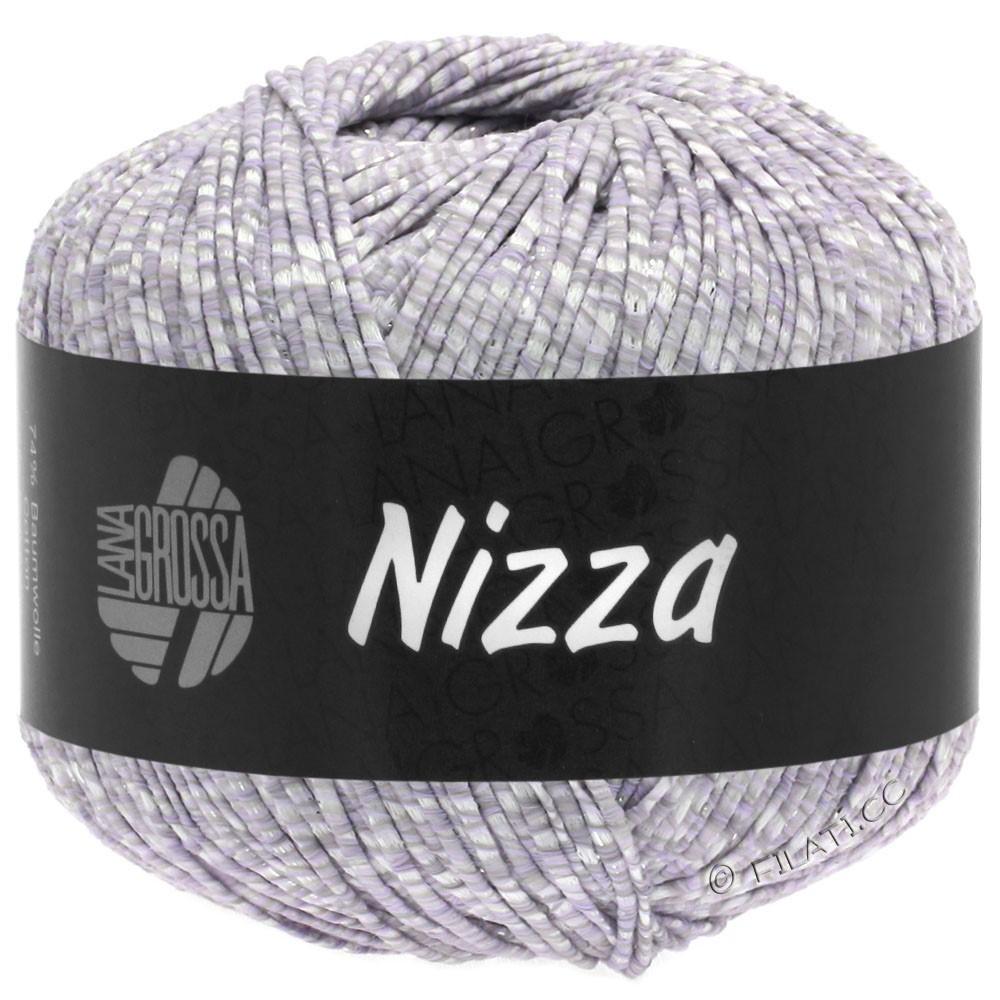 Lana Grossa NIZZA | 02-bianco/porpora delicata/argento