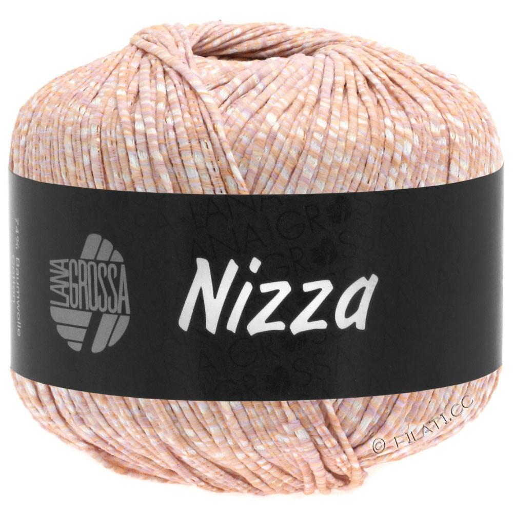 Lana Grossa NIZZA | 03-bianco/pesca/rame