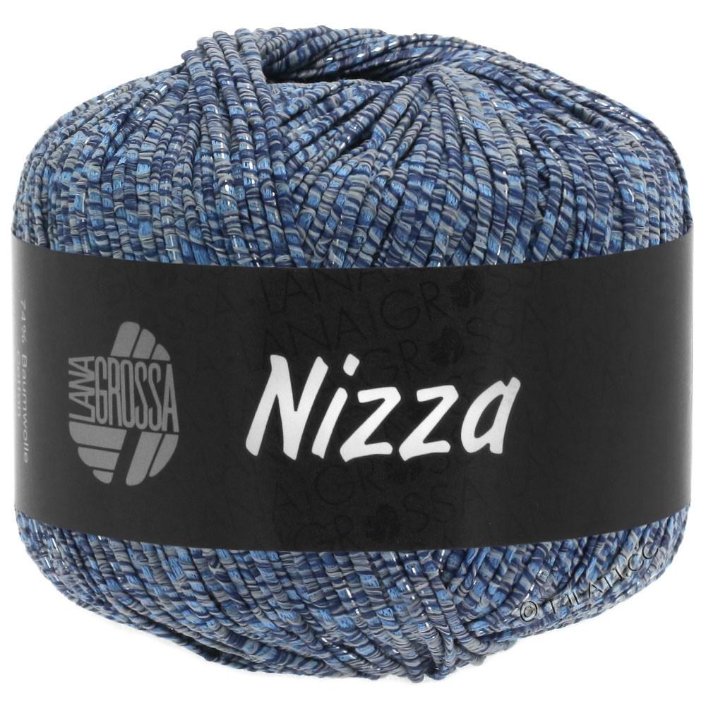 Lana Grossa NIZZA | 06-grigio blu/marino/argento