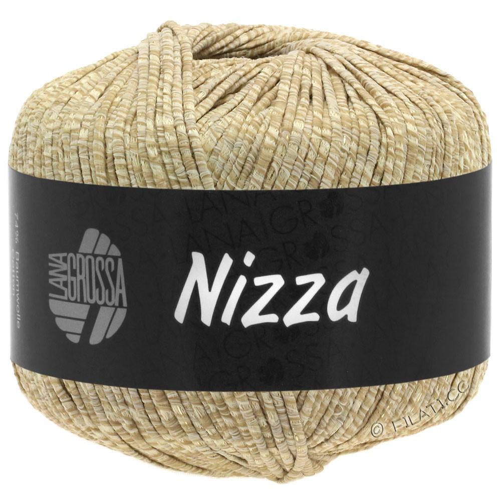 Lana Grossa NIZZA | 07-beige/sabbia/oro