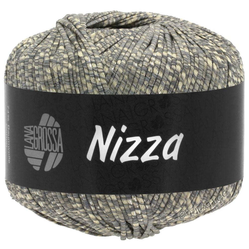 Lana Grossa NIZZA | 08-beige/grigio/argento