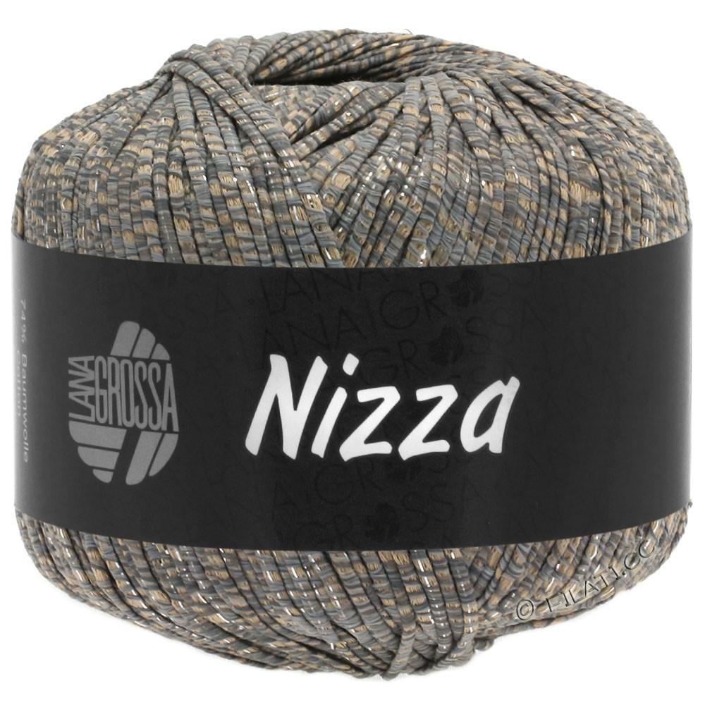 Lana Grossa NIZZA | 09-cammello/grigio/argento