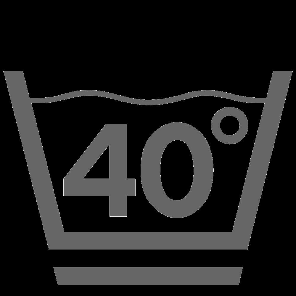 Lavaggio a 40° (delicato)