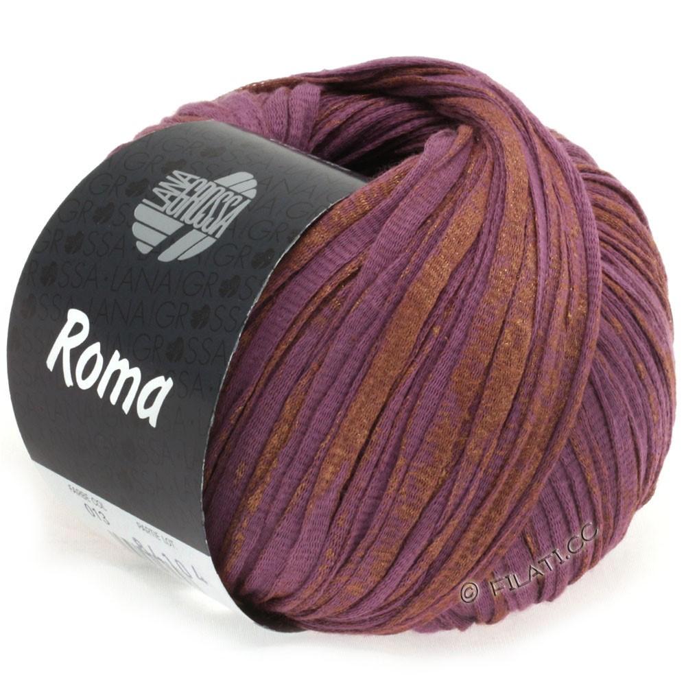 Lana Grossa ROMA   013-porpora/rame