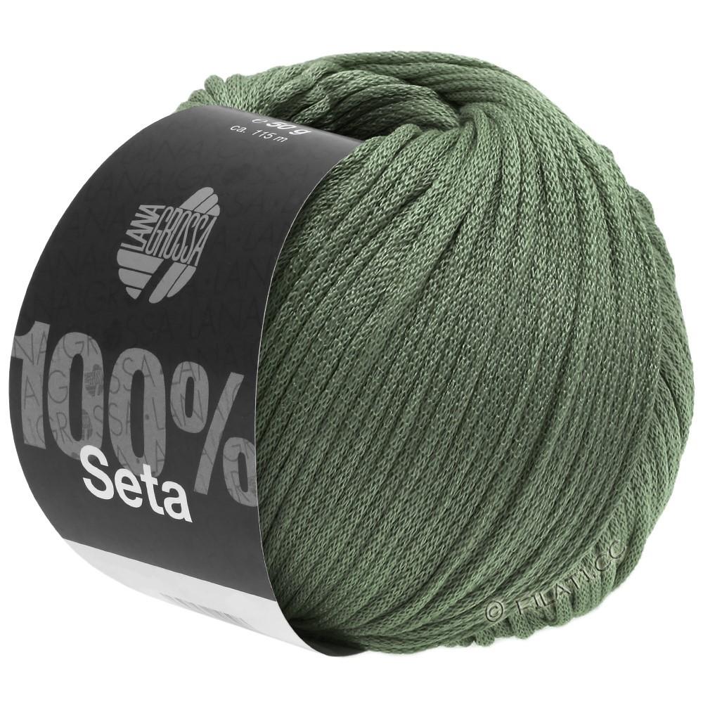 Lana Grossa SETA | 13-verde grigio