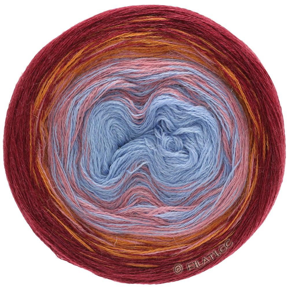 Lana Grossa SHADES OF ALPACA SILK | 301-bordó/arancio/rosa beige/blu