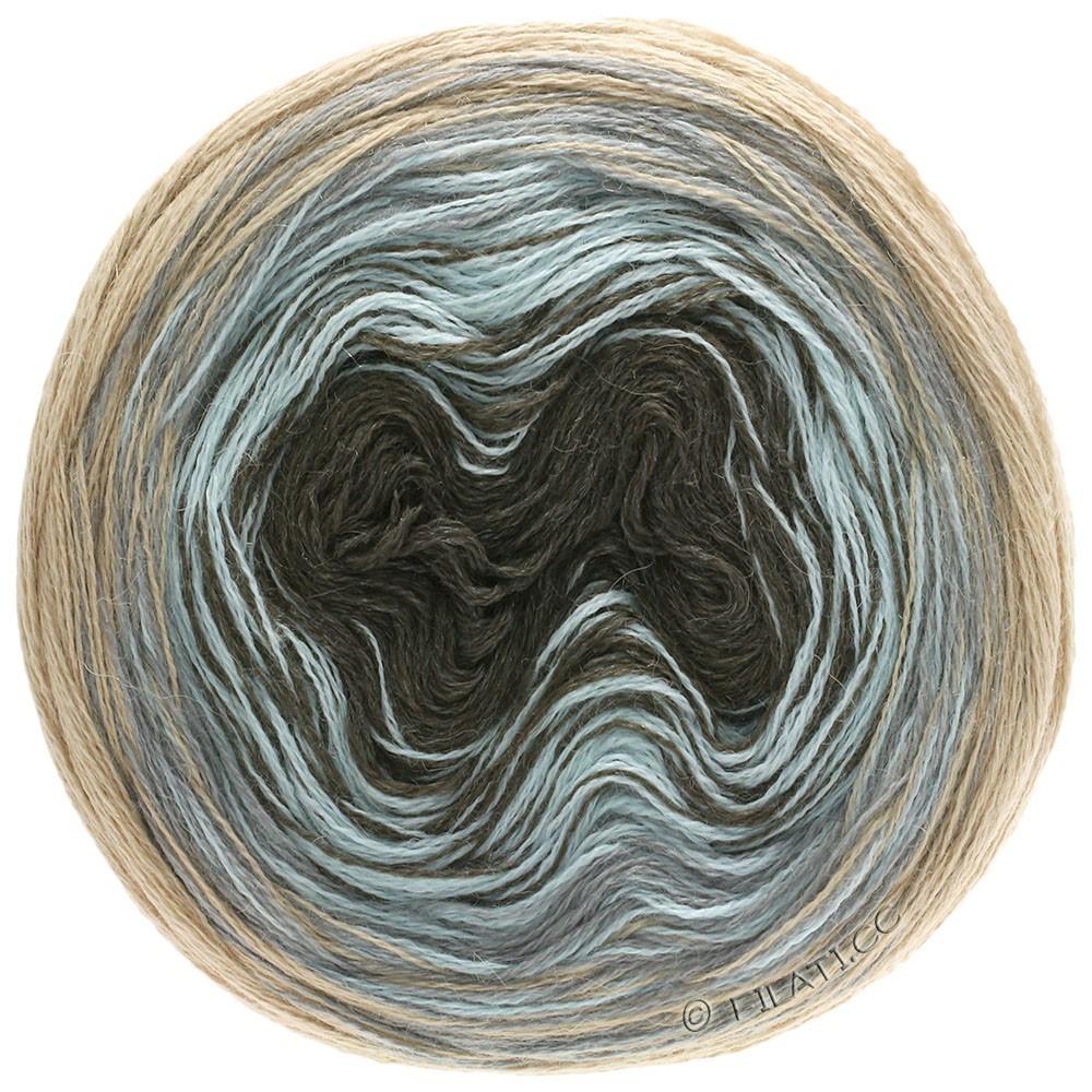 Lana Grossa SHADES OF ALPACA SILK | 304-beige/grigio chiaro/blu ghiaccio/moca
