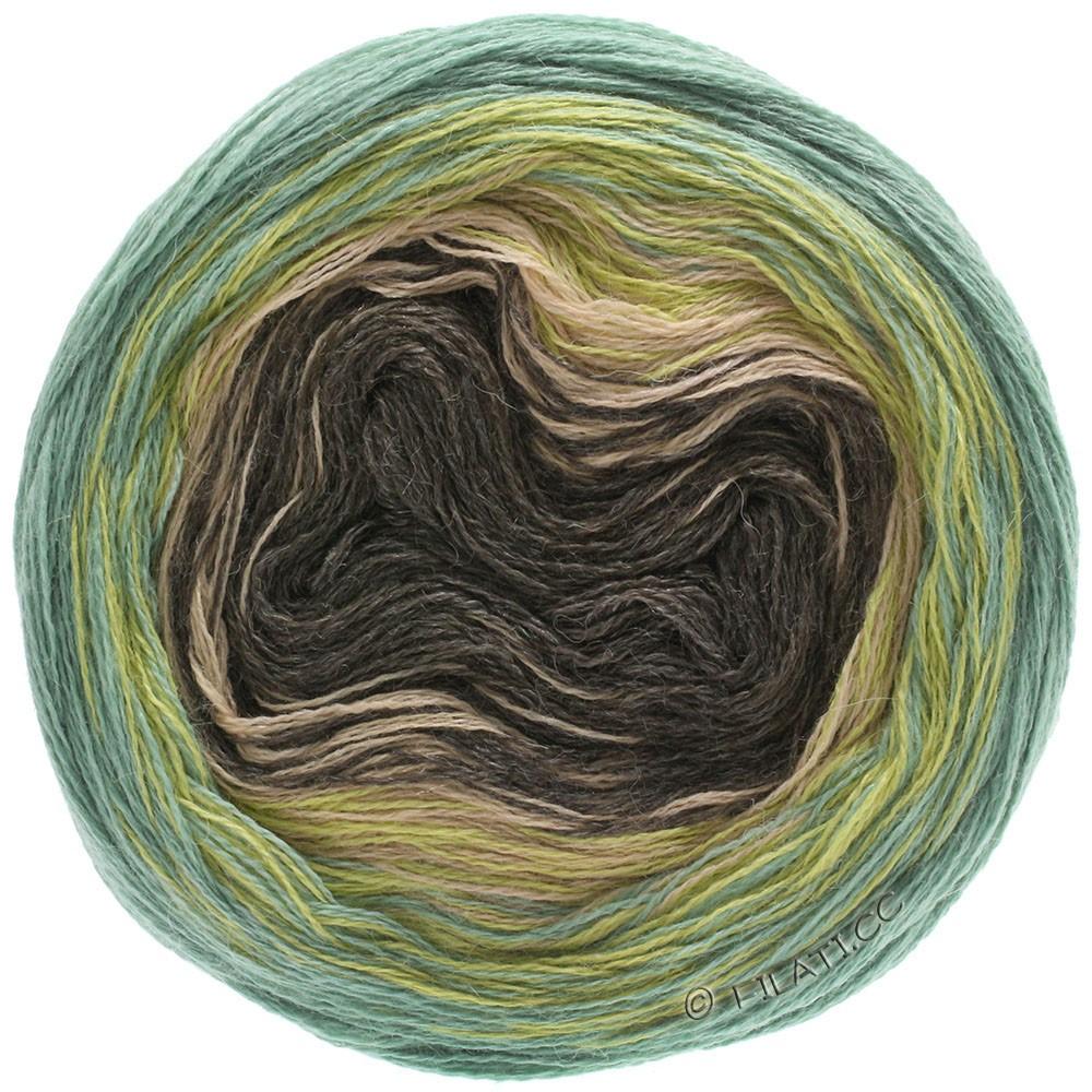 Lana Grossa SHADES OF ALPACA SILK | 305-senape/verde/beige/moca