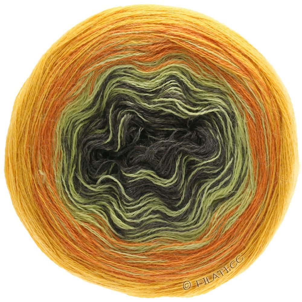 Lana Grossa SHADES OF ALPACA SILK | 308-giallo sole/arancio/senape/moca