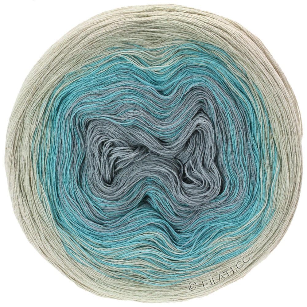Lana Grossa SHADES OF COTTON LINEN | 704-natura/blu chiaro/grigio chiaro/grigio