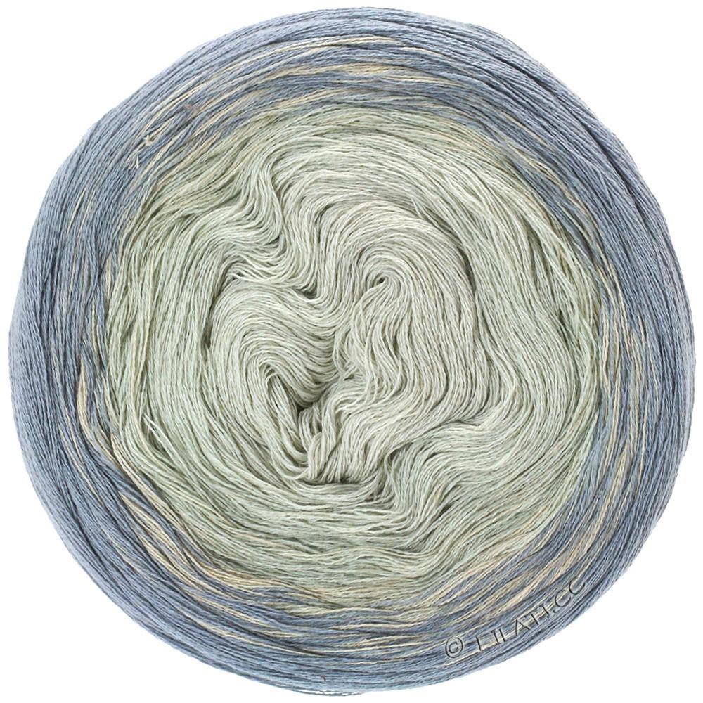 Lana Grossa SHADES OF COTTON LINEN | 708-grigio/grigio chiaro/ecru/natura