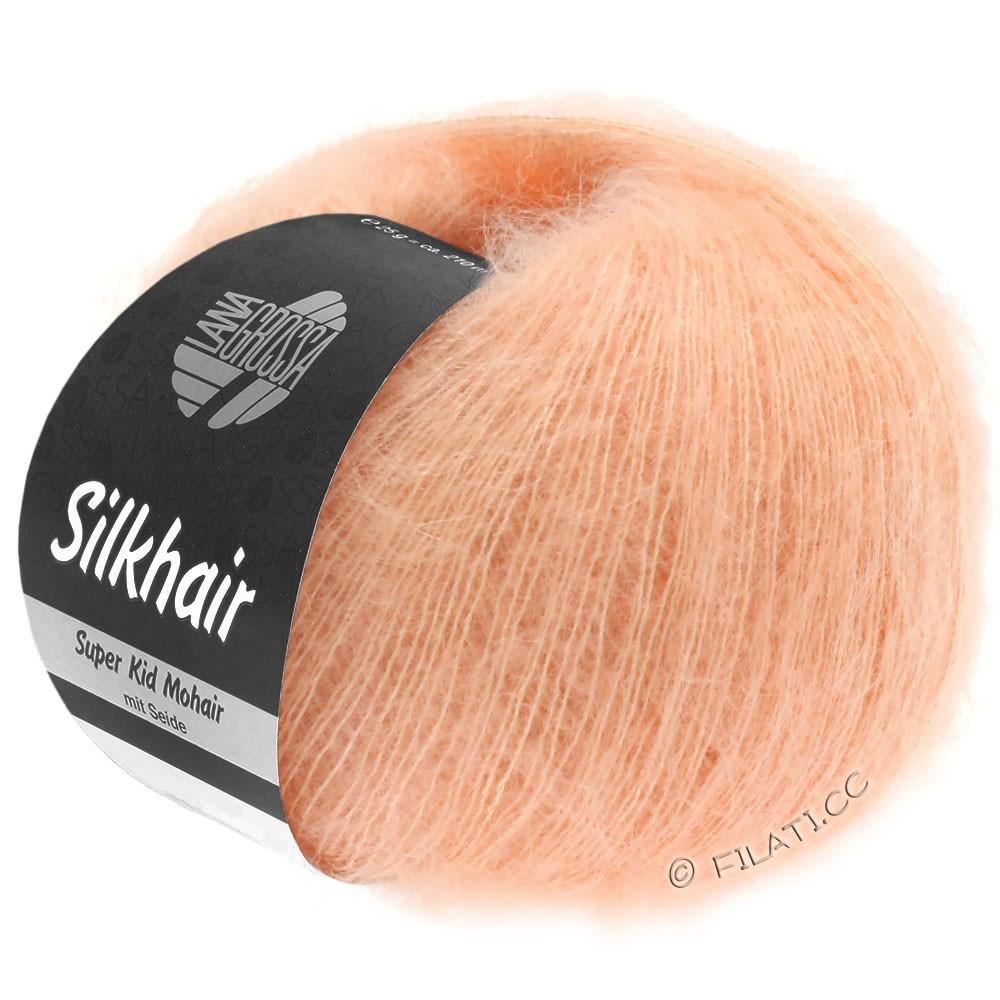 Lana Grossa SILKHAIR  Uni/Melange | 106-rosa perlato