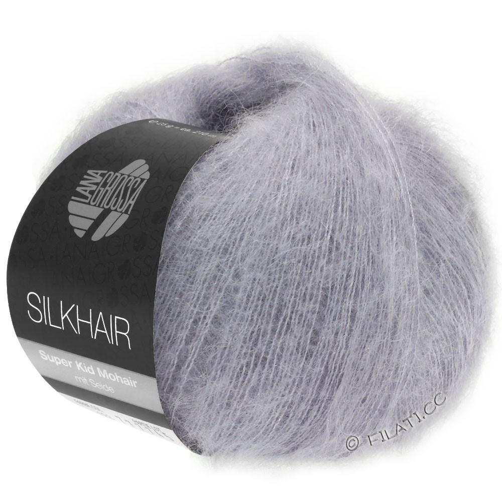 Lana Grossa SILKHAIR  Uni/Melange | 119-porpora grigio