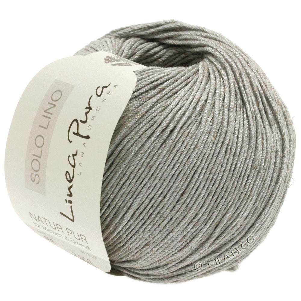 Lana Grossa SOLO LINO (Linea Pura) | 05-grigio chiaro