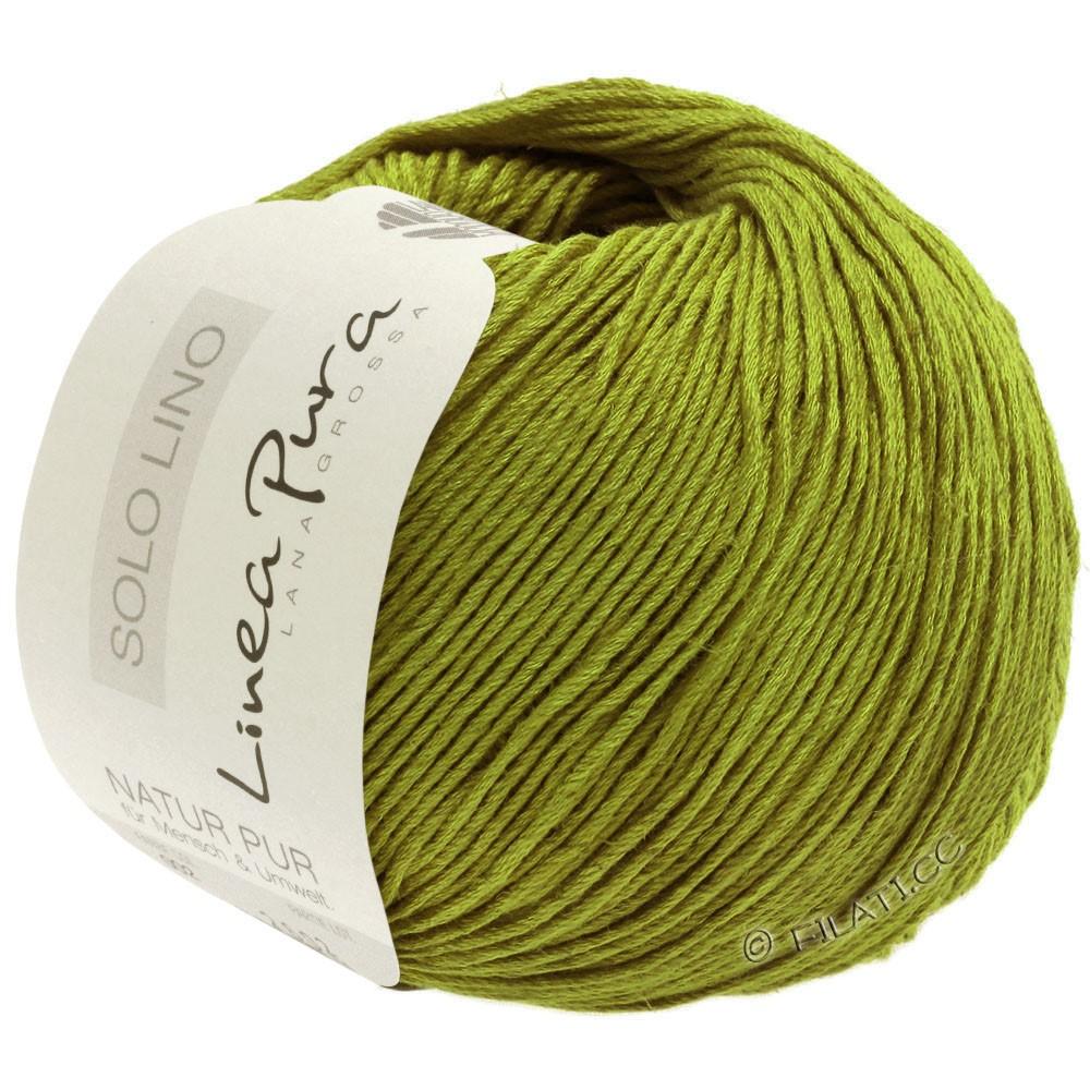 Lana Grossa SOLO LINO (Linea Pura) | 06-verde oliva