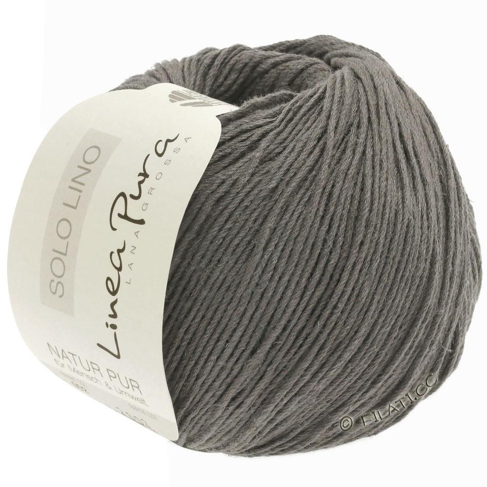 Lana Grossa SOLO LINO (Linea Pura) | 23-grigio pietra