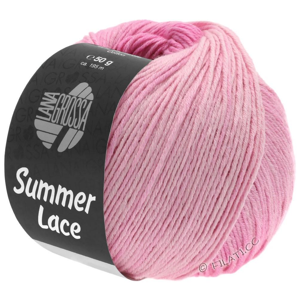Lana Grossa SUMMER LACE DEGRADÉ | 101-polvere/rosa delicata/rosa/rosa vivo