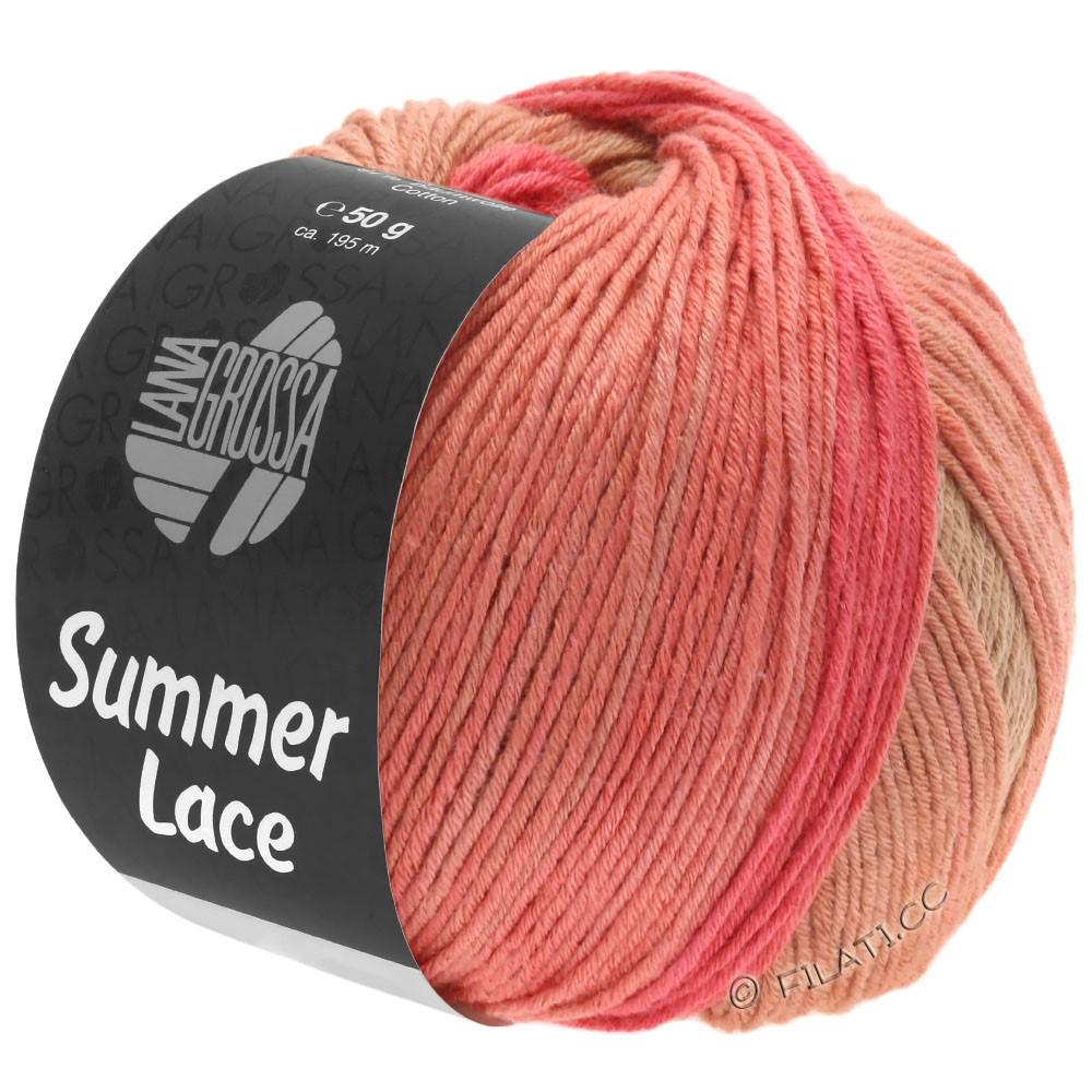 Lana Grossa SUMMER LACE DEGRADÉ | 105-cachi chiaro/cammello/salmone