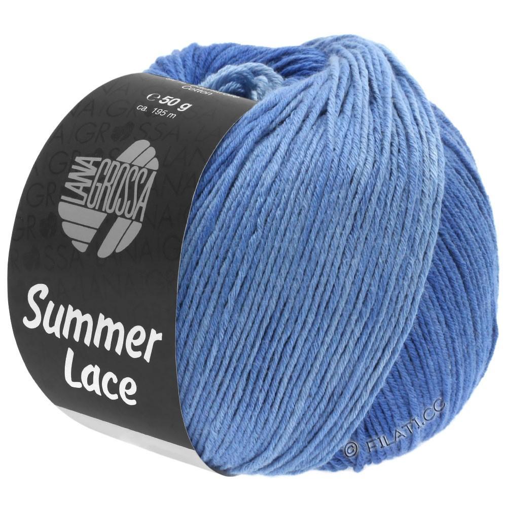 Lana Grossa SUMMER LACE DEGRADÉ | 108-blu chiaro/blu medio/blu scuro