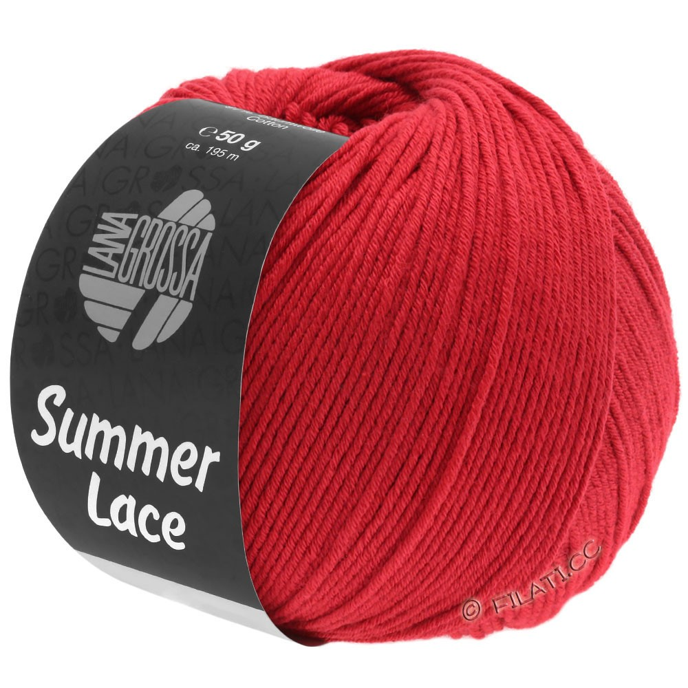 Lana Grossa SUMMER LACE | 12-rosso