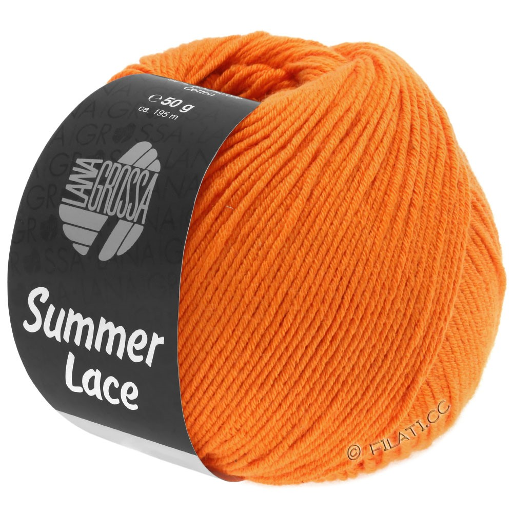 Lana Grossa SUMMER LACE | 17-arancio