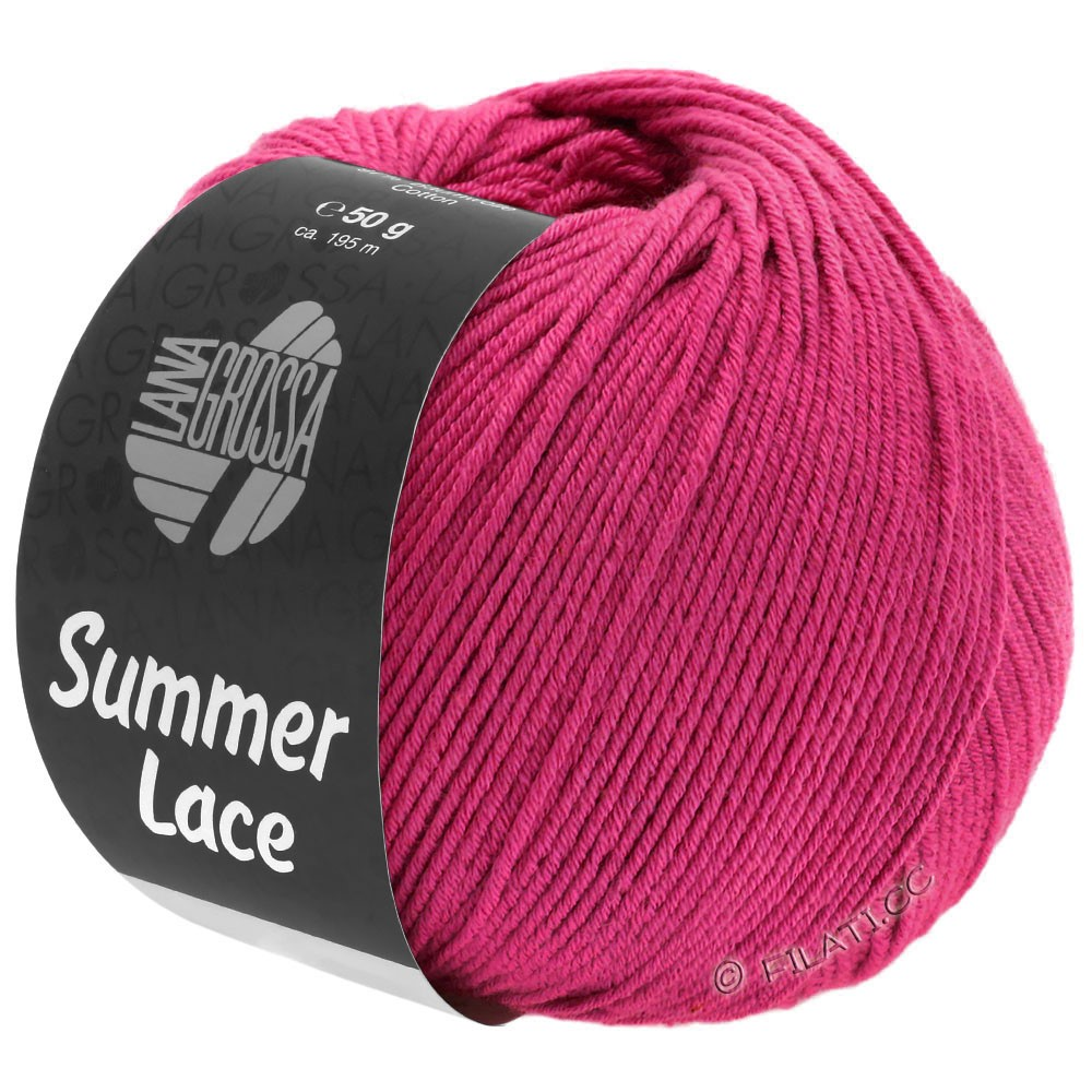 Lana Grossa SUMMER LACE | 18-rosa vivo