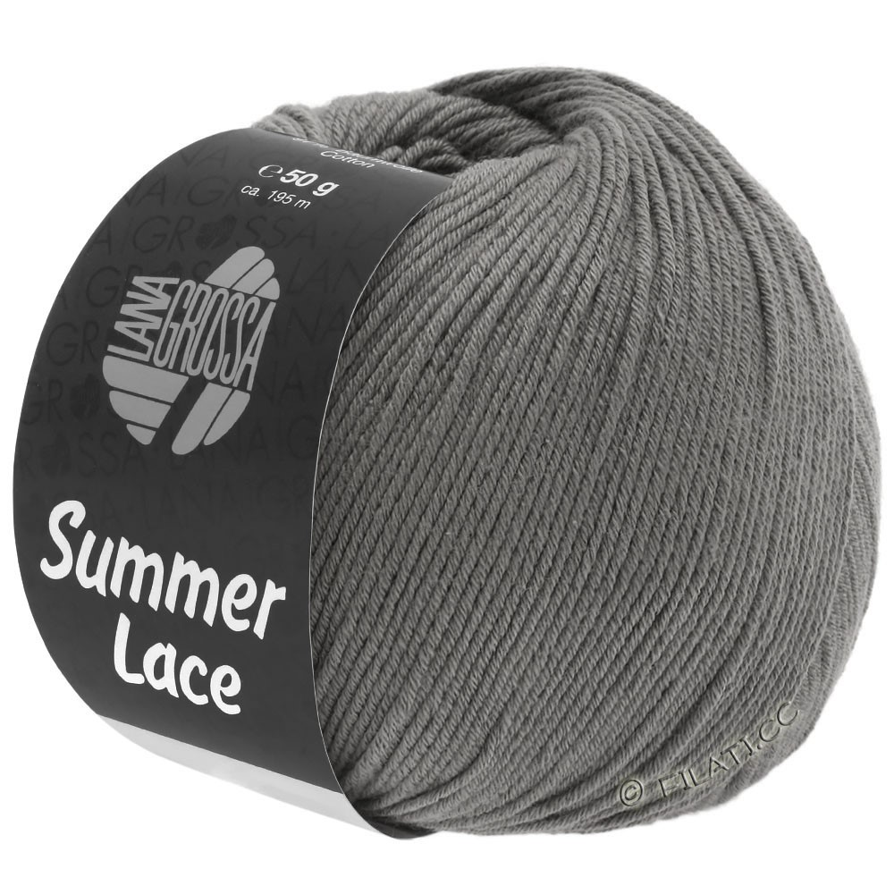 Lana Grossa SUMMER LACE | 19-grigio scuro