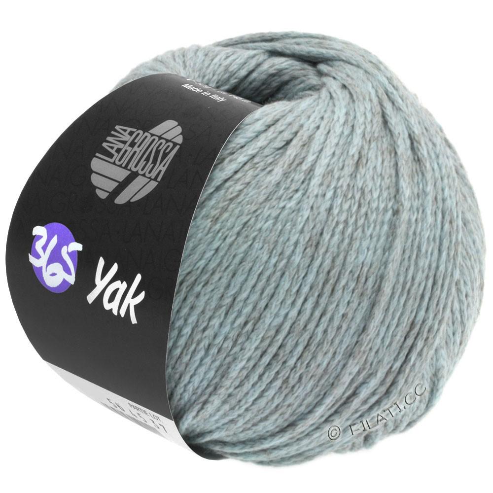 Lana Grossa 365 YAK | 08-blu chiaro/grigio