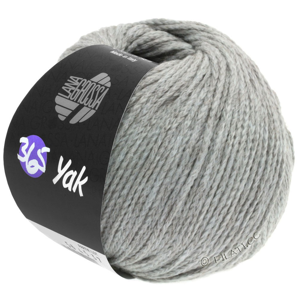 Lana Grossa 365 YAK | 11-grigio perlato