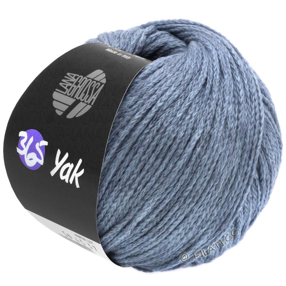 Lana Grossa 365 YAK | 22-blu colomba/grigio
