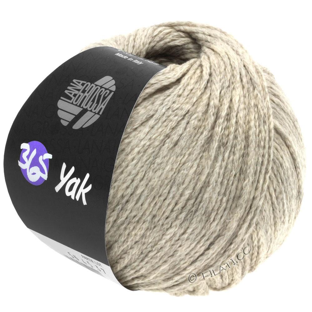 Lana Grossa 365 YAK | 24-beige grigio/natura