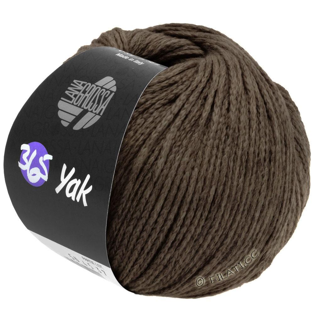 Lana Grossa 365 YAK | 28-marrone scuro
