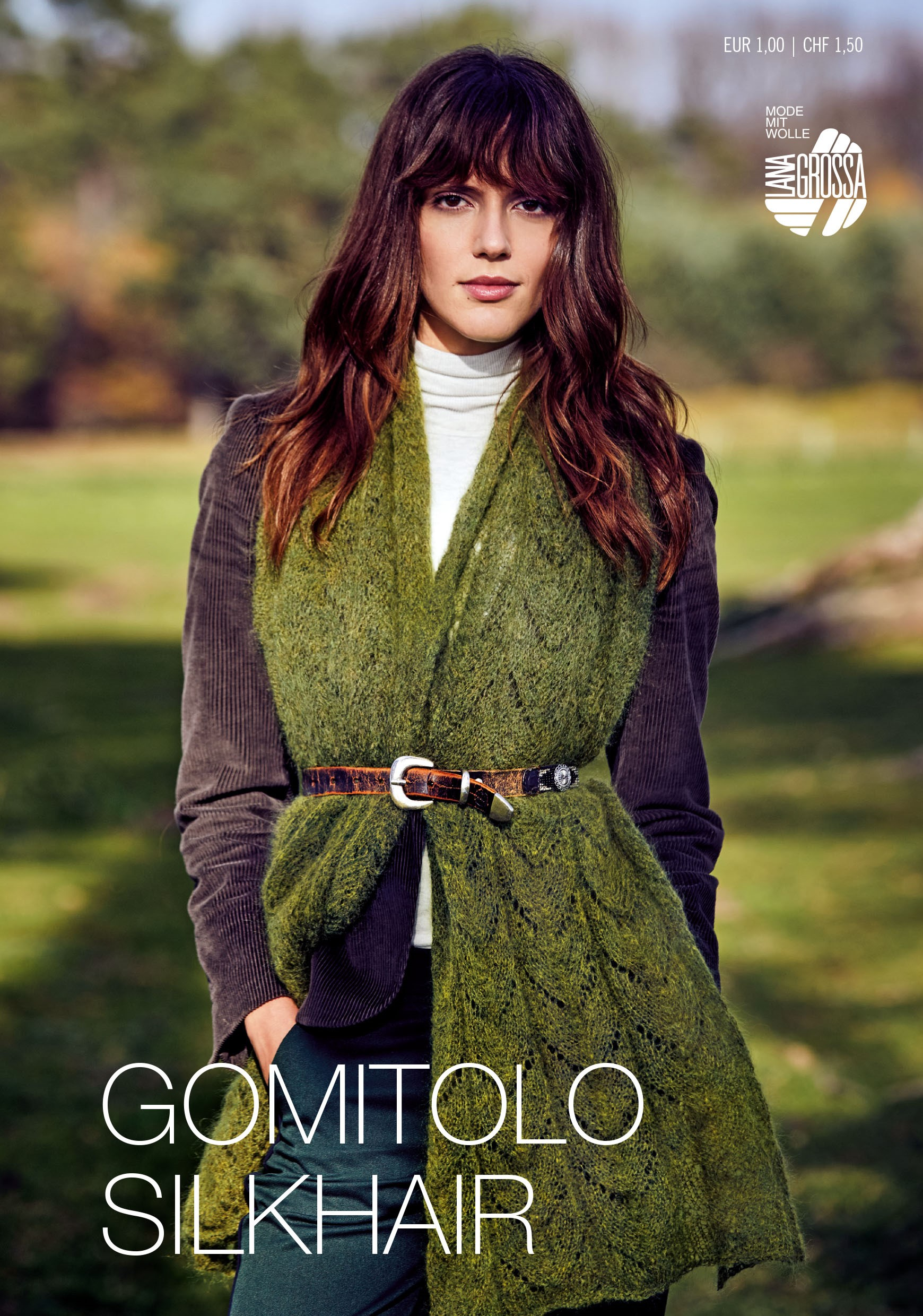 Lana Grossa GOMITOLO SILKHAIR Flyer - Magazine (DE) + Knitting instructions (EN)